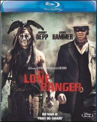 Cover Dvd Lone Ranger (Blu-ray)