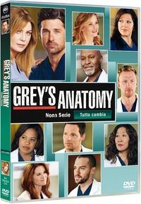 Cover Dvd Grey's Anatomy. Stagione 9 (DVD)