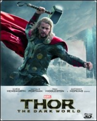 Cover Dvd Thor. The Dark World. 3D. Limited Edition (Blu-ray)