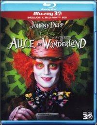 Cover Dvd Alice in Wonderland 3D (Blu-ray)