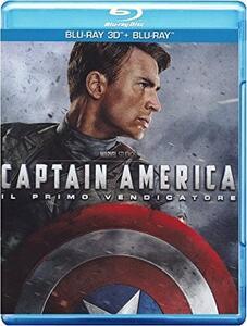 Captain America. Il primo vendicatore 3D (Blu-ray + Blu-ray 3D) di Joe Johnston
