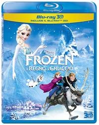 Cover Dvd Frozen. Il regno del ghiaccio 3D (Blu-ray)