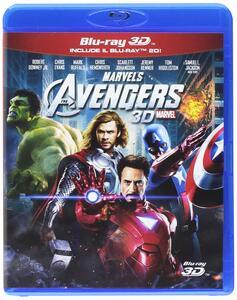 The Avengers (Blu-ray + Blu-ray 3D) di Joss Whedon