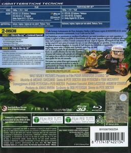 Up 3D (Blu-ray + Blu-ray 3D) di Pete Docter,Bob Peterson - Blu-ray + Blu-ray 3D - 2