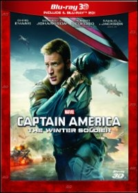 Cover Dvd Captain America. The Winter Soldier 3D (Blu-ray)