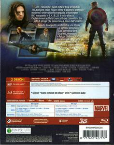 Captain America. The Winter Soldier 3D (Blu-ray + Blu-ray 3D) di Anthony Russo,Joe Russo - 2
