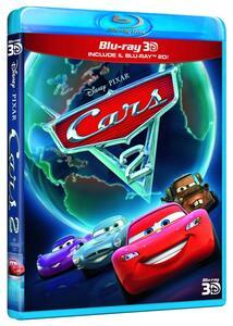 Cars 2 3D (Blu-ray + Blu-ray 3D) di John Lasseter,Brad Lewis