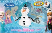 Cover Dvd Frozen. Il regno di ghiaccio