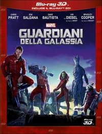 Cover Dvd Guardiani della galassia 3D (Blu-ray)