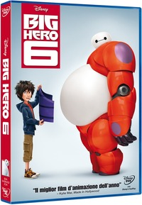 Cover Dvd Big Hero 6 (DVD)