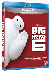 Cover Dvd Big Hero 6 3D (Blu-ray)