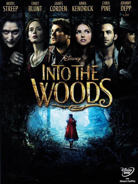 Into the Woods di Rob Marshall - DVD