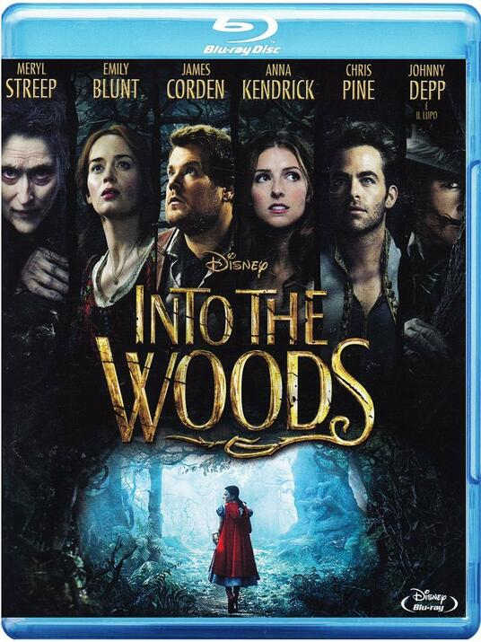 Into the Woods di Rob Marshall - Blu-ray