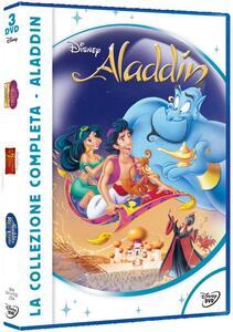 Aladdin. La collezione completa (3 DVD) di Toby Shelton