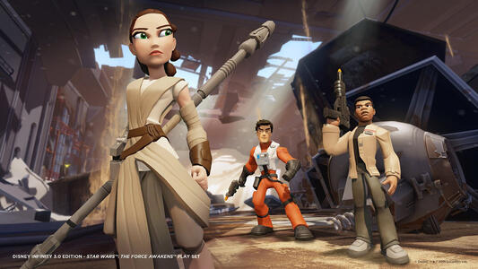 Disney Infinity 3.0 Star Wars Risveglio della Forza Poe Dameron - 4