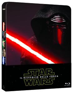 Film Star Wars. Il risveglio della Forza (Steelbook) J.J. Abrams 1