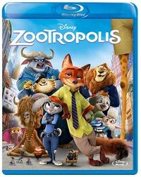 Cover Dvd Zootropolis (Blu-ray)