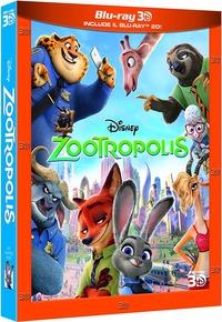 Cover Dvd Zootropolis 3D (Blu-ray)