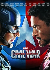 Cover Dvd Captain America. Civil War (DVD)