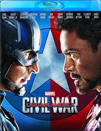 Cover Dvd Captain America. Civil War (Blu-ray)