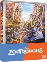 Cover Dvd Zootropolis 3D. Special Edition (Blu-ray)