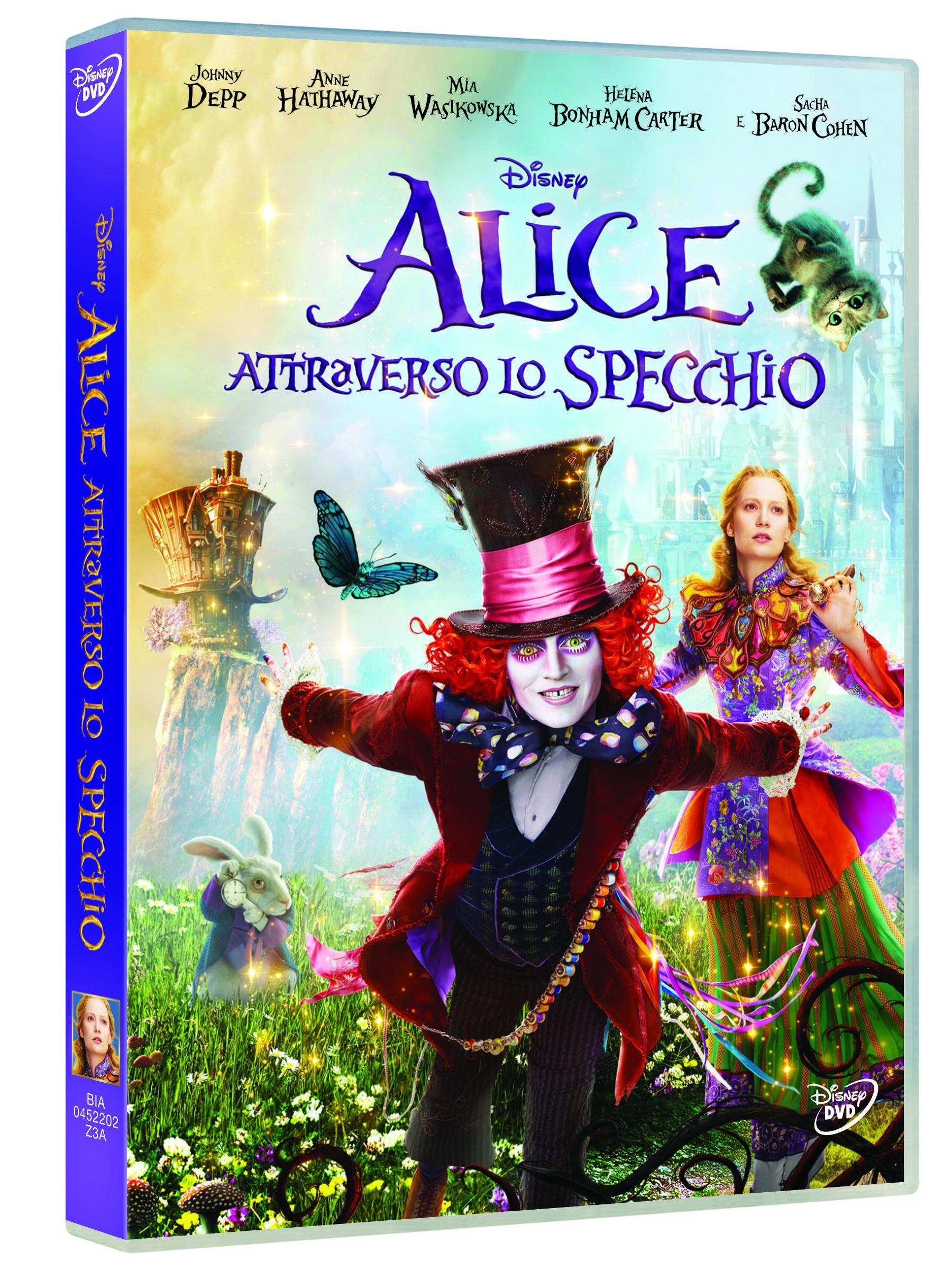 Alice attraverso lo specchio dvd film dvd film di james bobin fantastico ibs - Lo specchio film ...