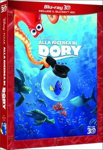 Alla ricerca di Dory 3D (Blu-ray + Blu-ray 3D) di Angus MacLane,Andrew Stanton - Blu-ray + Blu-ray 3D