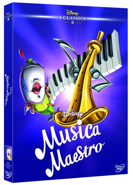 Musica maestro (DVD) di Jack Kinney,Clyde Geronimi,Hamilton Luske,Robert Cormack,Joshua Meador,Samuel Armstrong - DVD