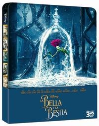 Cover Dvd bella e la bestia 3D (Steelbook) (DVD)
