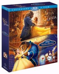 Cover Dvd bella e la bestia. Live action +  Cartone animato (Blu-ray) (Blu-ray)