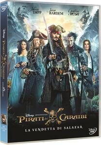 Pirati dei Caraibi. La vendetta di Salazar (DVD) di Joachim Roenning,Espen Sandberg - DVD