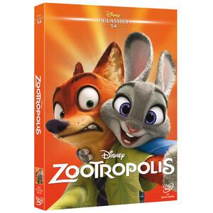 Zootropolis (DVD) di Byron Howard,Rich Moore,Jared Bush - DVD