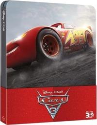 Cover Dvd Cars 3. Con Steelbook (Blu-ray 3D)