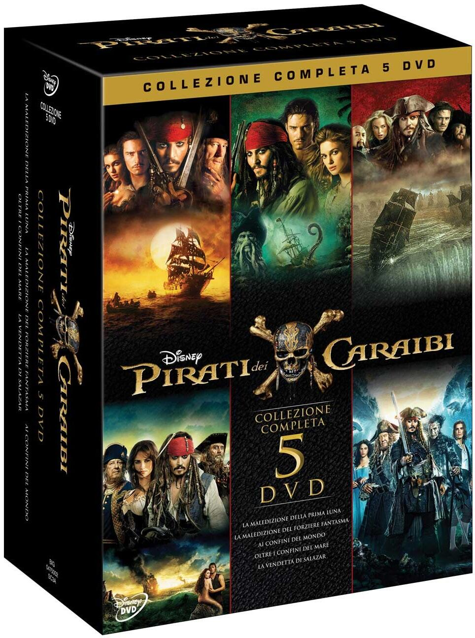 Pirati dei caraibi collezione 5 film dvd dvd film for Disegni di case dei caraibi