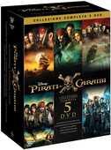 Film Pirati dei Caraibi. Collezione 5 film (DVD) Gore Verbinski Joachim Roenning Espen Sandberg Rob Marshall