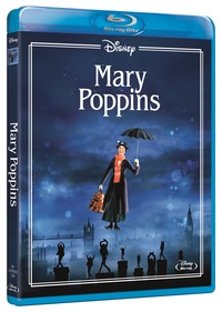 Cover Dvd Mary Poppins. Limited Edition 2017 (Blu-ray)