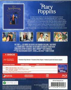 Mary Poppins. (Blu-ray) di Robert Stevenson - Blu-ray - 2