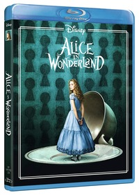 Cover Dvd Alice in Wonderland. Limited Edition 2017 (Blu-ray)
