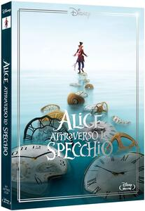 Alice attraverso lo specchio. Limited Edition 2017 (Blu-ray) di James Bobin - Blu-ray
