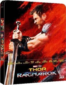 Thor Ragnarok. Con Steelbook (Blu-ray + Blu-ray 3D) di Taika Waititi