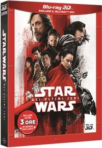 Cover Dvd Star Wars. Gli ultimi Jedi. Con Bonus Disc (Blu-ray 3D)