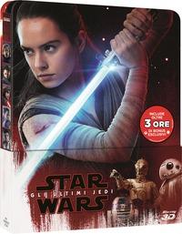 Cover Dvd Star Wars. Gli ultimi Jedi. Con Steelbook. Con Bonus Disc (Blu-ray 3D)