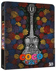 Coco. Con Steelbook (Blu-ray + Blu-ray 3D) di Lee Unkrich,Adrian Molina - Blu-ray + Blu-ray 3D