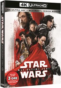 Film Star Wars. Gli ultimi Jedi. Con Bonus Disc (Blu-ray + Blu-ray Ultra HD 4K) Rian Johnson