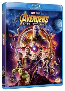 Avengers: Infinity War (Blu-ray) di Joe Russo,Anthony Russo - Blu-ray