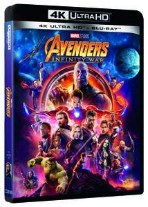 Avengers: Infinity War (Blu-ray + Blu-ray 4K Ultra HD) di Joe Russo,Anthony Russo - Blu-ray + Blu-ray Ultra HD 4K