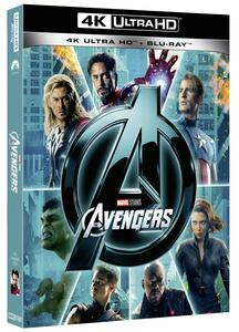 Avengers (Blu-ray + Blu-ray 4K Ultra HD) di Joss Whedon - Blu-ray + Blu-ray Ultra HD 4K