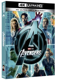 Cover Dvd Avengers (Blu-ray Ultra HD 4K)