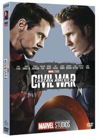 Cover Dvd Captain America. Civil War. Edizione 10° anniversario Marvel Studios (DVD)