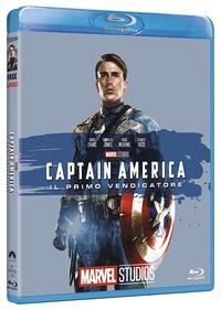 Cover Dvd Captain America. Il primo vendicatore. Edizione 10° anniversario Marvel Studios (Blu-ray)